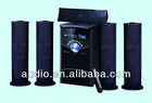 For home theater 5.1 speaker with USB/SD,FM,VFD display,Remote control,Karaoke