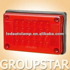 100%waterproof UV PC LED Stop Lights