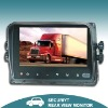 7 Inch tft color digital car reverse monitor with touch buttons