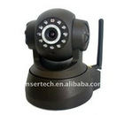 WIFI WPA PTZ Dual Audio IP Wireless Camera