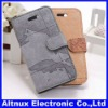 World map Stand Leather Leather Case Cover For Apple iPhone 5 5G CP099