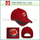 baseball cap with embroidery and printing Promotional cap