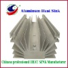 Aluminium drilled led heat sink