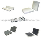air conditioner filter,cabin filter and engine air filter