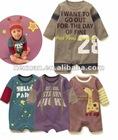 4 designs mixed Long sleeve romper baby's romper, boy's romper, girl's romper,