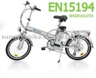 (ZW-TDN-301Z) EN15194 electric folding bikes