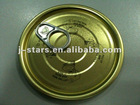 Tin Easy Open Can Lids