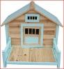 fire-proof wood panel pets house