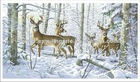 Deer cross-stitch