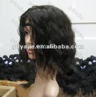 cheap hair wig soft & smooth brazilian human hair 14inch