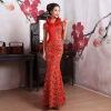 QDQP-052 Cheongsam Chinese National Dress Evening Dress