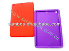 Durable tablet soft skin back case cover for iPad mini