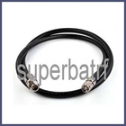 N female to RP-TNC male pigtail cable LMR400 1M, cable assembly