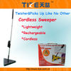 Cordless electronic sweeper TZ-TV700 Triangle Cordless Sweeper with Rechargeable Battery&360 degrees head swivel