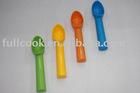 Biodegradable!!!! Colorful plastic ice-cream spoon