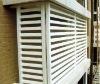 Blind PVC Window