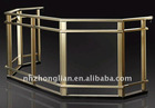 mill finish aluminium handrail profile