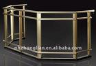mill finish aluminium handrail profile
