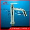 stainless steel high bathroom cold faucet