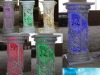 New crystal columns with LED light