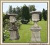 Garden antique stone planter