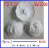 white Newchanel camellia gift flower fabric flower