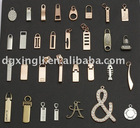 zinc alloy zipper