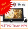 4.3'' HD Touch Sreen MP5 with various color