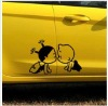 (Factory Direct Sale) Removable and Use Repeatedly Car Decals Sticker