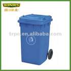 100 liter plastic garbage bin with wheels/EN 840 Certification