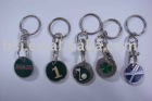 trolley coin / shopping cart token keychain/promotion gift