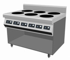 Induction cooker 3500w with 6 burners