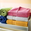 Solid color 100% cotton towel