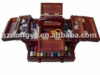 160pcs Wooden Sewing kit box