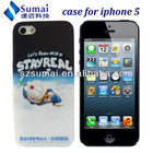 Doraemon cases for apple iphone 5 / cute cell phone cases