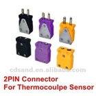 2 PIN industrial thermocouple connector