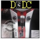 DEDC 127cmx30m Silver 3D Carbon Fibre Vinyl Wrap Decal Sticker Film