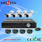 H.264 4CH CCTV Standalone DVR Surveillance Systems