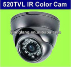 Hot-selling 520TVL SONY CCD dome camera/CCTV security camera