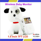 High Quality 1/4-inch Color CMOS Sensor Baby Monitor,Audio Monitor With Adjustable Focal Lens Camera Digital Baby Monitor