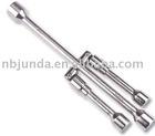 Folding lug wrench---FLW-003