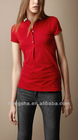 2012 Women Well design Cotton Polo Shirt Hst-016