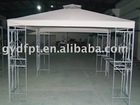 3*3m luxury metal forged pavilion