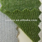 Appx. 185cm width 100% wool fleece velvet knit fabric