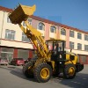 SWM635 wheel loader with 3.5T 1.7m3 bucket capacity and 9500kg weight