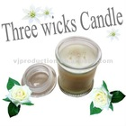 three-wick aroma soy candle 2013 gift