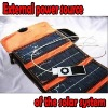 2000mAh Solar Battery Portable Charger For Cell Phone MP4