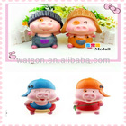 personalized couple piggy bank lovely mcdull money saving box