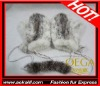 AKLGM1122CW knit mink fur gloves. Luxury genuine fur gloves with exquisite handmade. Hot selling with wholesale price