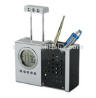 New Pen holder with clock at factory price